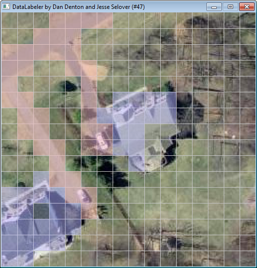 Discriminative Random Fields for Aerial Structure Detection