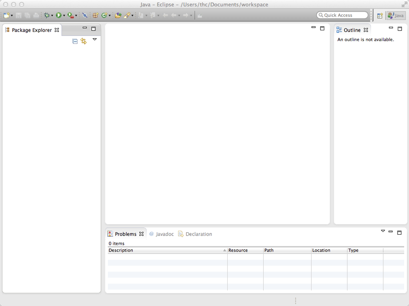 Installing Java 8 and Eclipse on Mac OS X